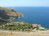 villaggio turistico e panorama tra San Vito Lo Capo e la Riserva dello Zingaro - 30 agosto 2008  - Calampiso (3371 clic)