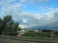 Autostrada A29 Palermo-Mazara - monti di Castellammare innevati - 14 febbraio 2009   - Alcamo (2198 clic)