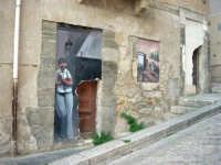 per le vie di Vita - murales - Mestieri e tradizioni della civiltà contadina: il fabbro e l'oste disoccupato - 9 ottobre 2007   - Vita (2960 clic)