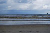 Spiaggia Plaja - il mare d'inverno - 13 febbraio 2009  - Castellammare del golfo (1756 clic)