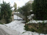 neve sul monte Bonifato - 15 febbraio 2009   - Alcamo (1777 clic)