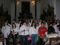 Coro - Santuario di N.S. della Misericordia - 5 gennaio 2009  - Valderice (5120 clic)