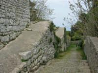 Mura Elimo Puniche - sec. VIII-VI a.c. - 25 aprile 2006  - Erice (2702 clic)