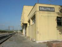GALLITELLO - stazione ferroviaria - 1 marzo 2009  - Alcamo (4178 clic)