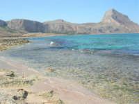 Golfo del Cofano - spiaggia . . . rocciosa, mare stupendo - 30 agosto 2008  - San vito lo capo (514 clic)