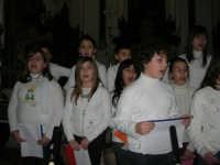 Coro - Santuario di N.S. della Misericordia - 5 gennaio 2009  - Valderice (4870 clic)