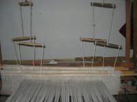 Cene di San Giuseppe - telaio - 15 marzo 2009  - Salemi (2324 clic)