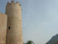 Castello dei Conti di Modica: torre sud-est - 12 settembre 2008   - Alcamo (764 clic)