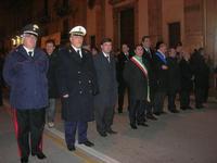 festa dell'Immacolata: la processione nel corso VI Aprile - le autorità - 8 dicembre 2009   - Alcamo (3018 clic)