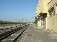 GALLITELLO - stazione ferroviaria - 1 marzo 2009  - Alcamo (4601 clic)