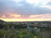 panorama al tramonto - 26 ottobre 2008  - Marsala (1022 clic)