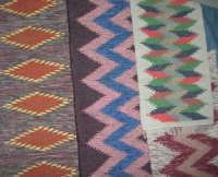 Cene di San Giuseppe - mostra di manufatti - tappeti - 15 marzo 2009  - Salemi (2496 clic)