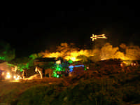 lo scenario del Presepe Vivente - 26 dicembre 2008  - Balata di baida (2410 clic)