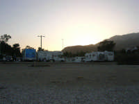 Baia di Guidaloca dopo il tramonto - 2 novembre 2008   - Castellammare del golfo (464 clic)