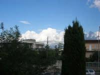 panorama: nubi bianche ad est - 7 ottobre 2007   - Alcamo (733 clic)