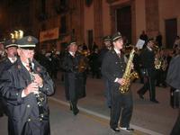 festa dell'Immacolata: la processione nel corso VI Aprile - il Premiato Complesso Bandistico Città di Alcamo - 8 dicembre 2009   - Alcamo (2355 clic)
