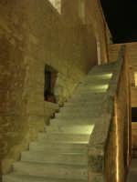 Castello dei Conti di Modica - cortile interno e scala - 23 dicembre 2008    - Alcamo (542 clic)