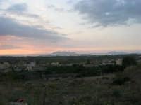 panorama al tramonto - Isole delle Stagnone ed Egadi - 26 ottobre 2008  - Marsala (950 clic)