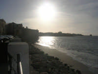 Lungomare Dante Alighieri - il sole volge al tramonto - 13 marzo 2009  - Trapani (2222 clic)