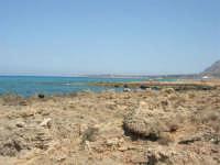 Golfo del Cofano: paesaggio brullo e mare stupendo - 23 agosto 2008  - San vito lo capo (599 clic)