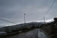 neve in contrada Tre Noci - 14 febbraio 2009  - Alcamo (2530 clic)