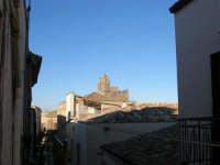 centro storico: il campanile dell'ex Chiesa di S. Maria del Soccorso - 6 gennaio 2007  - Alcamo (1123 clic)