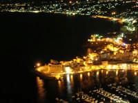 le luci del Golfo di Castellammare, Cala Petrolo, il Castello, il porto - 18 settembre 2008   - Castellammare del golfo (1352 clic)