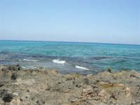 Golfo del Cofano: scogli e mare stupendo - 23 agosto 2008  - San vito lo capo (449 clic)
