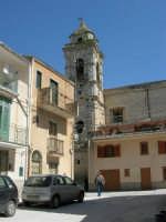 il campanile della Chiesa S. Sebastiano - 23 aprile 2006  - Chiusa sclafani (1051 clic)