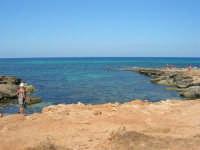 Golfo del Cofano - scogliera, mare stupendo - 30 agosto 2008  - San vito lo capo (457 clic)