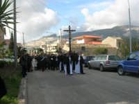 Processione della Via Crucis - crocifisso ligneo della fine del '500 - 5 aprile 2009   - Buseto palizzolo (1898 clic)
