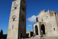 Duomo (sec. XIV) e Torre Campanaria (sec. XIII) - 28 settembre 2008   - Erice (729 clic)