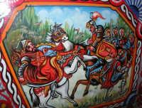 carretto siciliano: particolare - 6 settembre 2008  - Campobello di mazara (1386 clic)