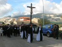 Processione della Via Crucis - crocifisso ligneo della fine del '500 - 5 aprile 2009   - Buseto palizzolo (1971 clic)
