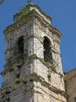 il campanile della Chiesa S. Sebastiano - 23 aprile 2006  - Chiusa sclafani (1156 clic)
