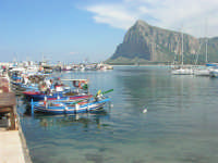 dal porto il monte Monaco - 10 maggio 2009  - San vito lo capo (1633 clic)