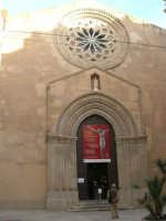 Fulget crucis mysterium - Il genio immortale e la devozione popolare - Il Crocifisso ritrovato - Chiesa di Sant'Agostino in piazza Saturno - 13 marzo 2009  - Trapani (2206 clic)