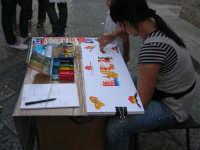 Festeggiamenti Maria SS. dei Miracoli - Viale dei Mercanti Corso VI Aprile (Realizzato in pochi secondi: il nome LUCA) - 20 giugno 2008   - Alcamo (729 clic)