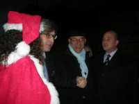 Epifania a Salemi - Il Sindaco Vittorio Sgarbi ed il Presidente della Provincia di Trapani Mimmo Turano (a destra) - 6 gennaio 2009   - Salemi (4486 clic)