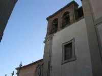 facciata laterale e campanile della Chiesa dell'ex Collegio dei Gesuiti - 11 ottobre 2007   - Salemi (1915 clic)