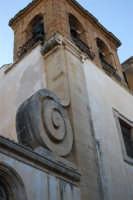 facciata laterale della Chiesa dell'ex Collegio dei Gesuiti - campanile - 11 ottobre 2007  - Salemi (2580 clic)