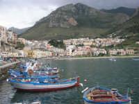 la città vista da porto - 14 novembre 2008  - Castellammare del golfo (571 clic)