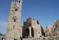 Duomo (sec. XIV) e Torre Campanaria (sec. XIII)- 1 maggio 2008   - Erice (857 clic)