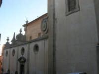 facciata laterale della Chiesa dell'ex Collegio dei Gesuiti - 11 ottobre 2007   - Salemi (2206 clic)
