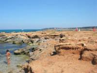 Golfo del Cofano - scogliera, mare stupendo - 30 agosto 2008  - San vito lo capo (487 clic)