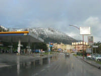 periferia di Castellammare - Monte Inici innevato - 14 febbraio 2009   - Castellammare del golfo (2060 clic)