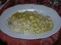 gnocchi con pistacchi e speck - 10 maggio 2009  - Buseto palizzolo (4672 clic)