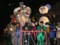 Carnevale 2009 - Sfilata carri allegorici - 24 febbraio 2009   - Balestrate (3414 clic)