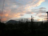 Monte Bonifato al tramonto - 19 novembre 2008  - Alcamo (679 clic)