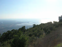 panorama dal monte Erice: Trapani e le saline - 28 settembre 2008   - Erice (867 clic)